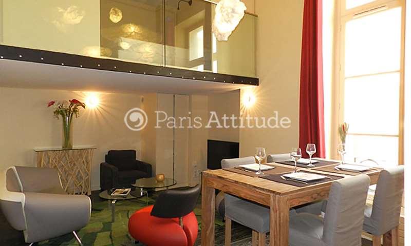 Rent Apartment 2 Bedrooms 70m² rue Greneta, 2 Paris