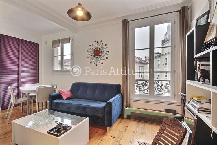 Rent apartment in paris 75020 40m nation ref 10435 for Living room 75020