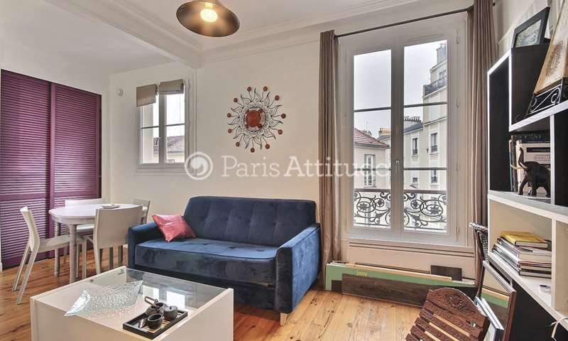 Rent Apartment 1 Bedroom 40m² rue Planchat, 20 Paris