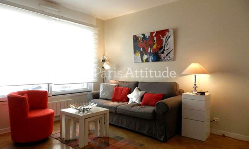 Rent Apartment 1 Bedroom 55m² rue Paul Barruel, 75015 Paris