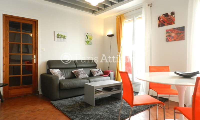 Rent Apartment 1 Bedroom 35m² rue Dumeril, 75013 Paris