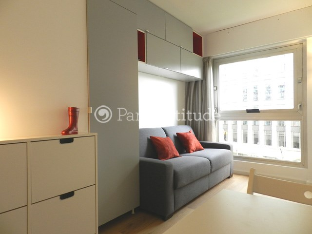 Rent Apartment Studio 16m² boulevard de Vaugirard, 75015 Paris