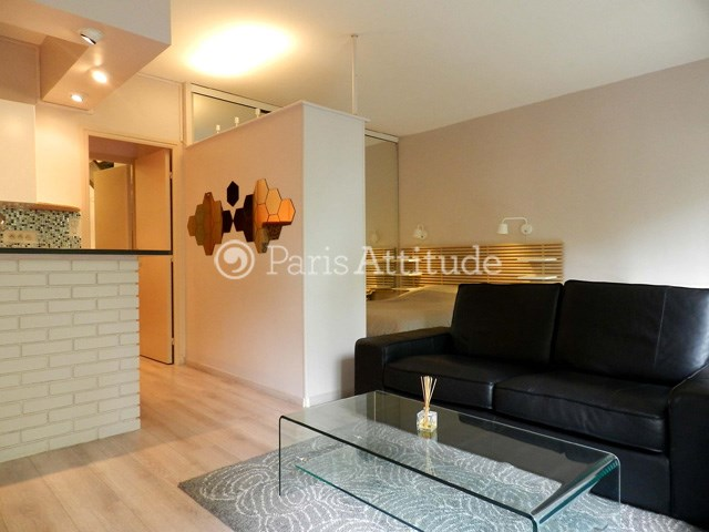 Rent Apartment Alcove Studio 36m² rue de la Faisanderie, 75016 Paris
