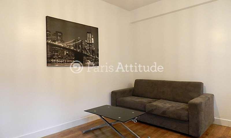 Rent Apartment Studio 21m² rue Clairaut, 17 Paris