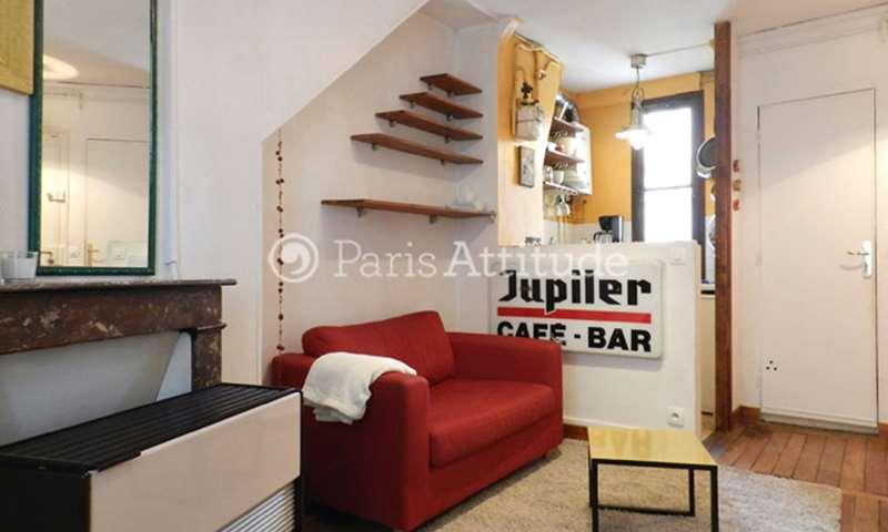 Rent Apartment 1 Bedroom 31m² rue des Trois Freres, 18 Paris