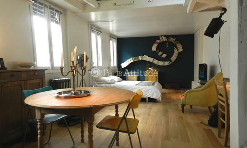 Rent Apartment Studio 33m² rue du Faubourg Saint Martin, 75010 Paris