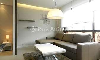 Rent Apartment Alcove Studio 34m² rue de Berri, 8 Paris