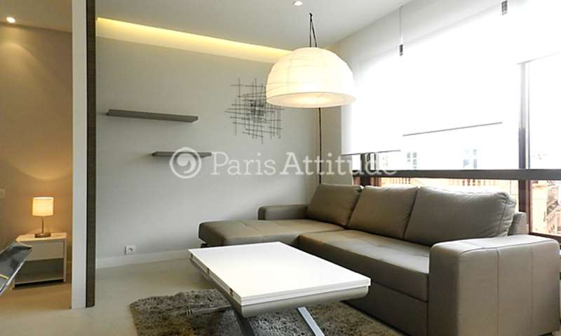 Rent Apartment Alcove Studio 34m² rue de Berri, 8 Paris