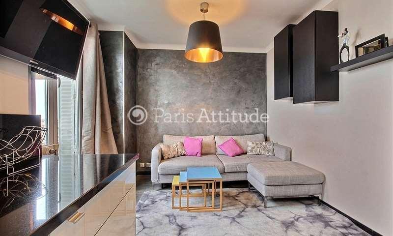 Rent Apartment Alcove Studio 35m² rue Sainte Isaure, 18 Paris