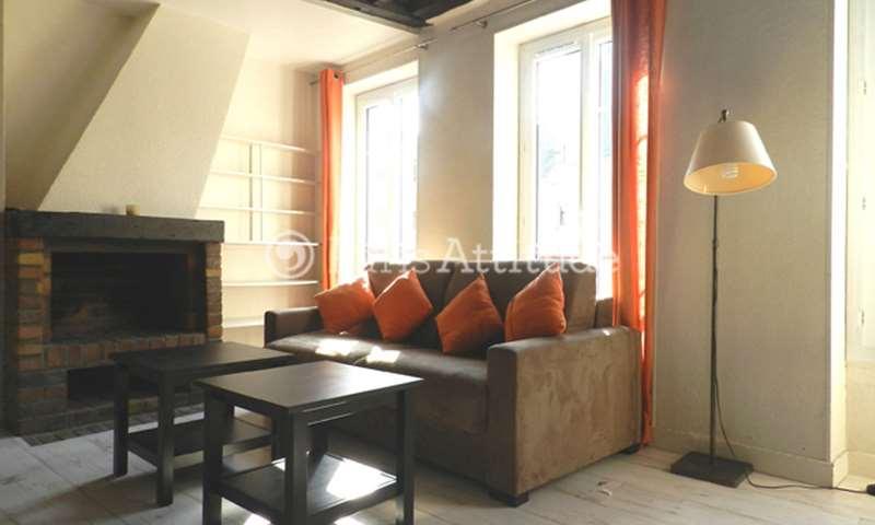Rent Apartment 1 Bedroom 30m² rue Caffarelli, 75003 Paris