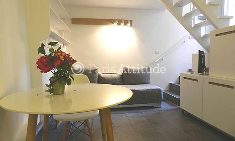 Rent Apartment Alcove Studio 29m² rue Fabert, 7 Paris