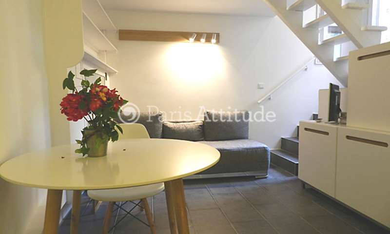 Rent Apartment Alcove Studio 29m² rue Fabert, 75007 Paris