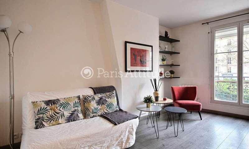 Rent Apartment 1 Bedroom 31m² rue de la Folie Mericourt, 11 Paris