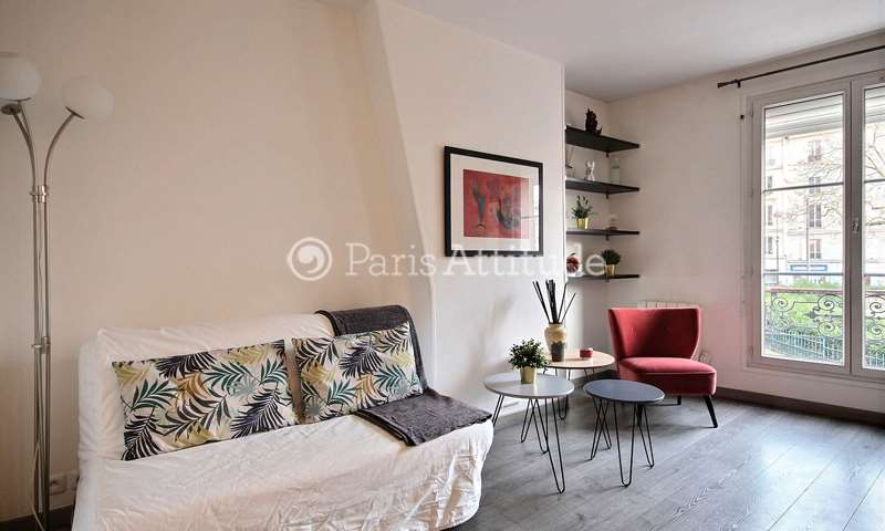 Rent Apartment 1 Bedroom 31m² rue de la Folie Mericourt, 75011 Paris