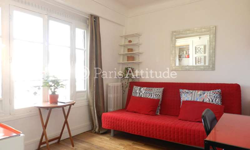 Rent Apartment Studio 15m² rue Marcadet, 18 Paris