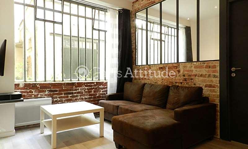 Rent Apartment 1 Bedroom 38m² rue du Chemin Vert, 75011 Paris