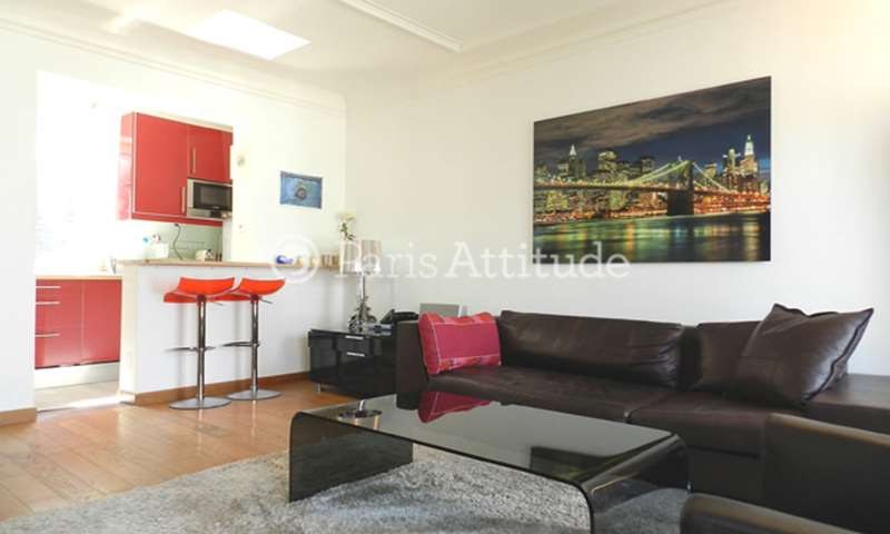 Rent Apartment 1 Bedroom 45m² avenue Carnot, 75017 Paris