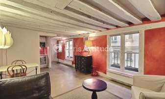 Location Appartement 1 Chambre 38m² rue Bonaparte, 6 Paris