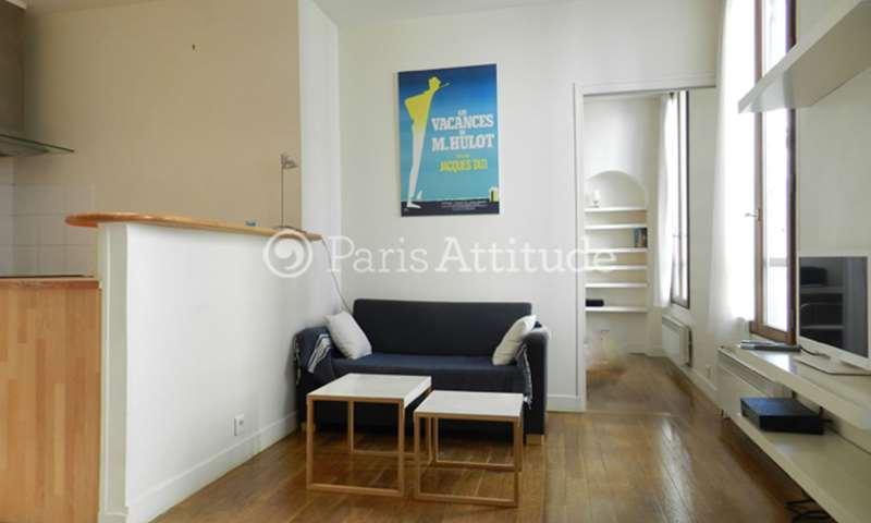 Rent Apartment 1 Bedroom 32m² rue du Faubourg Saint Martin, 75010 Paris