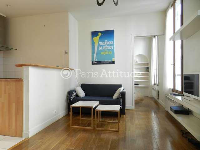 Rent furnished Apartment 1 Bedroom 32m² rue du Faubourg Saint Martin, 75010 Paris