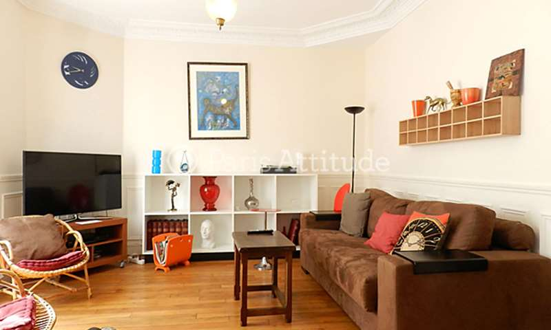 Rent Apartment 2 Bedroom 70m² rue de Lourmel, 75015 Paris