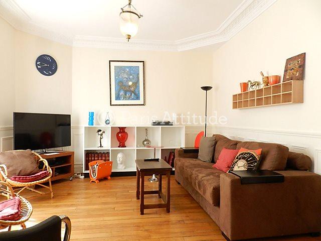 Rent furnished Apartment 2 Bedrooms 70m² rue de Lourmel, 75015 Paris