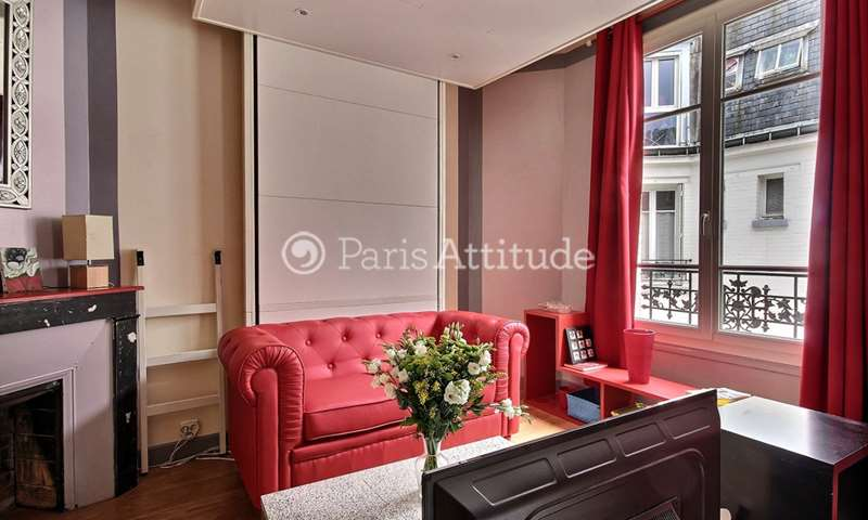 Rent Apartment Studio 25m² rue de l Amiral Roussin, 15 Paris