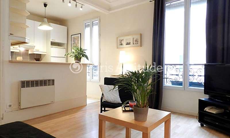 Rent Apartment 1 Bedroom 35m² rue de la Felicite, 17 Paris