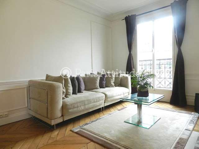 Rent furnished Apartment 1 Bedroom 52m² rue Petit, 75019 Paris