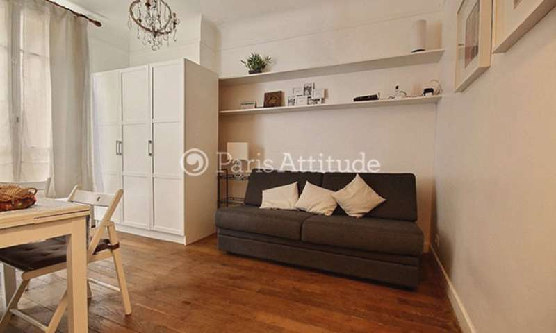 Location Appartement Studio 18m² rue des Tournelles, 3 Paris