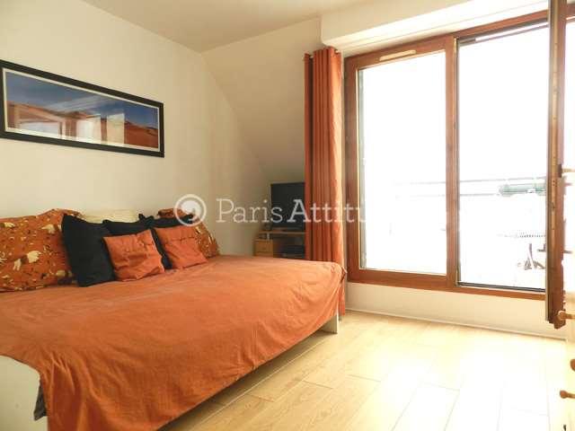 Rent furnished Apartment Studio 30m² rue Simonet, 75013 Paris
