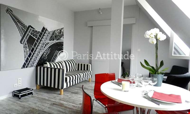 Rent Apartment 1 Bedroom 27m² rue de Moscou, 8 Paris