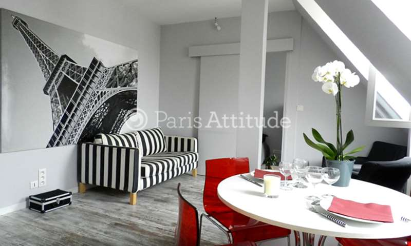 Rent Apartment 1 Bedroom 27m² rue de Moscou, 75008 Paris