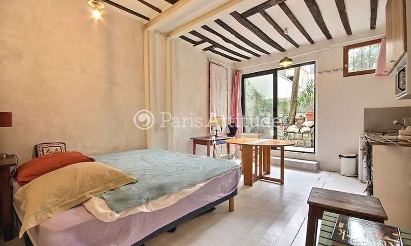 Location Appartement Studio 28m² rue du Faubourg Du Temple, 10 Paris