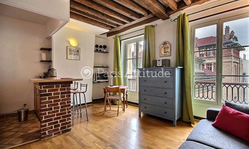 Location Appartement Studio 25m² rue Beauregard, 2 Paris