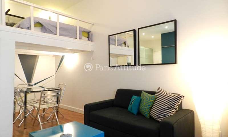 Rent Apartment Studio 26m² rue Charles Delescluze, 11 Paris
