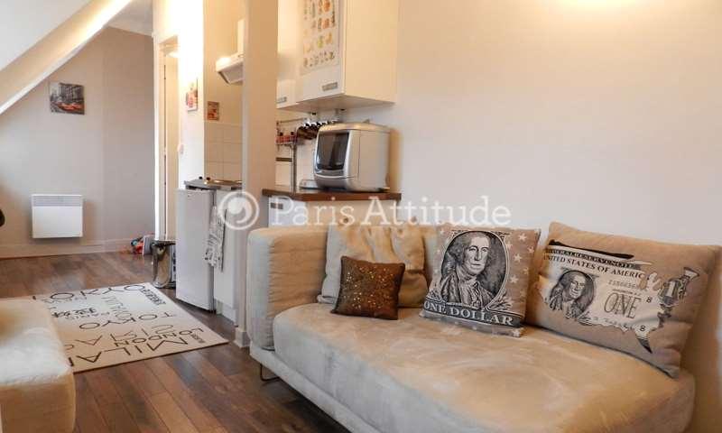 Rent Apartment 1 Bedroom 20m² rue Alexandre Cabanel, 15 Paris