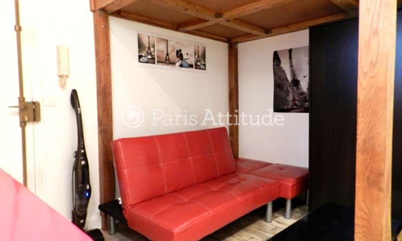 Rent Apartment Studio 15m² rue Perronet, 75007 Paris