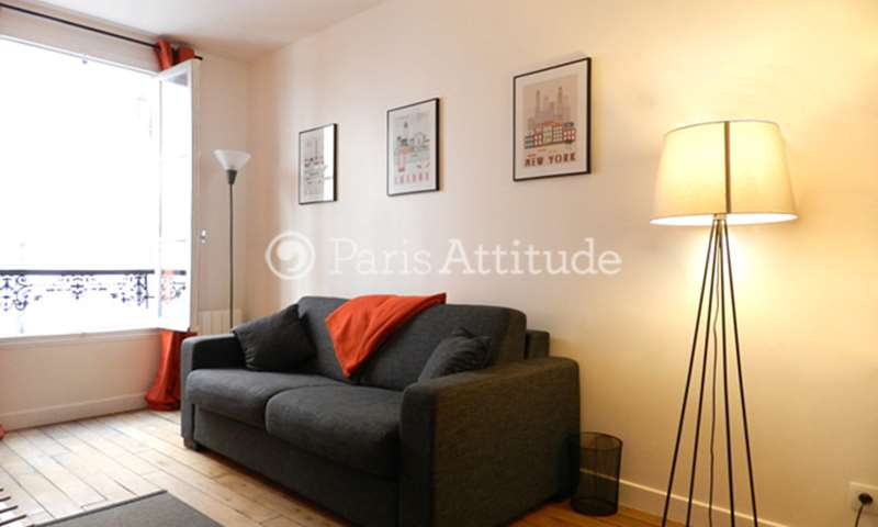Rent Apartment Studio 21m² rue Brey, 75017 Paris