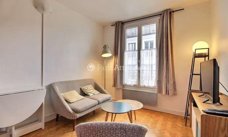 Location Appartement 1 Chambre 25m² rue Chappe, 18 Paris