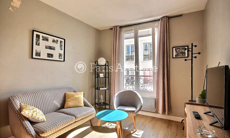 Rent Apartment 1 Bedroom 25m² rue Chappe, 75018 Paris