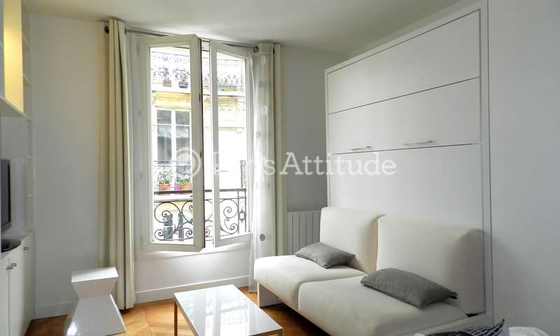 Rent Apartment Studio 27m² rue de l etoile, 17 Paris