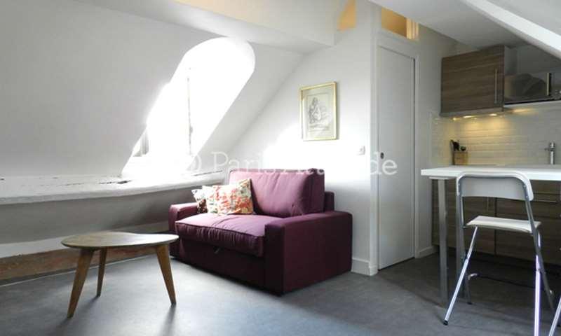 Rent Apartment Studio 15m² rue Beauregard, 2 Paris