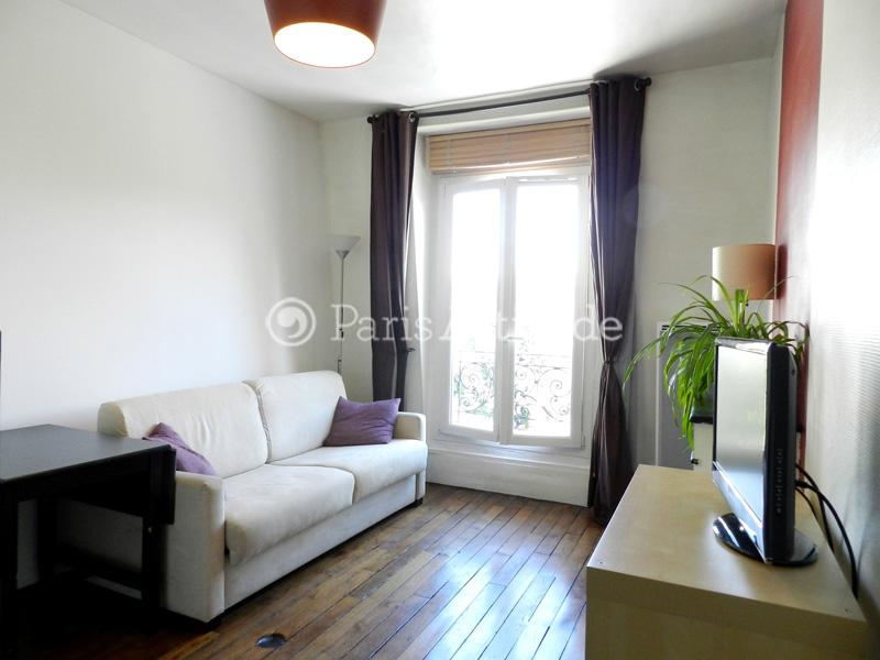 Rent apartment in paris 75020 20m gambetta ref 10784 for Living room 75020
