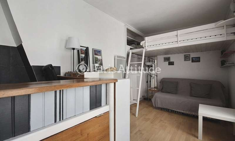 Rent Apartment Studio 20m² rue du Grand Prieure, 11 Paris