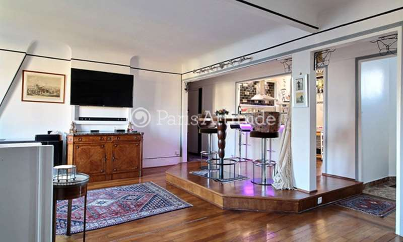 Rent Apartment 1 Bedroom 65m² rue Caulaincourt, 18 Paris