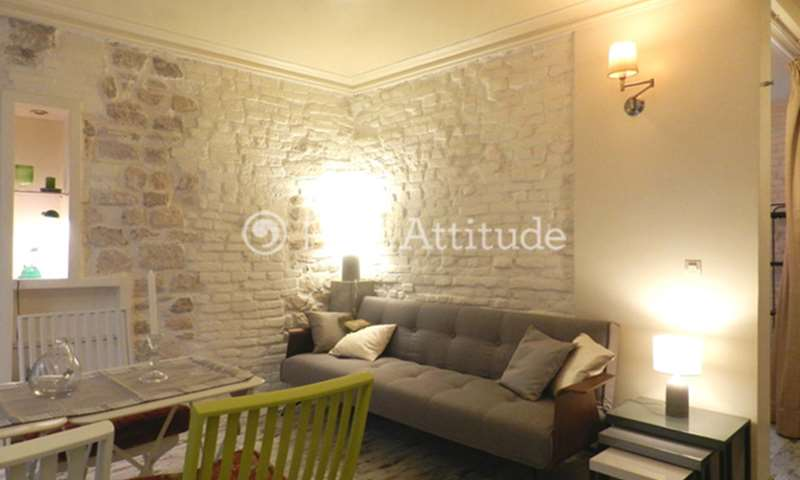 Rent Apartment 1 Bedroom 30m² rue Durantin, 18 Paris