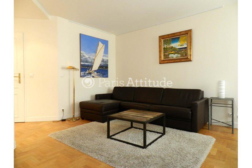 Rent furnished Apartment 2 Bedrooms 80m² rue de la Tour, 75016 Paris