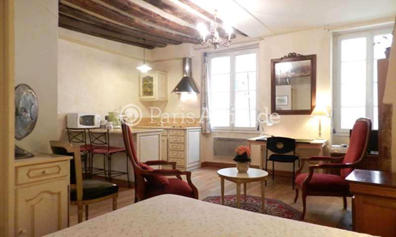 Location Appartement Studio 27m² rue Guisarde, 75006 Paris
