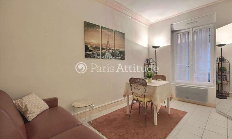 Rent Apartment Studio 25m² rue du Debarcadere, 17 Paris